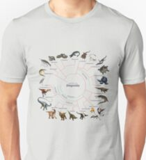 Diapsida: The Cladogram Unisex T-Shirt
