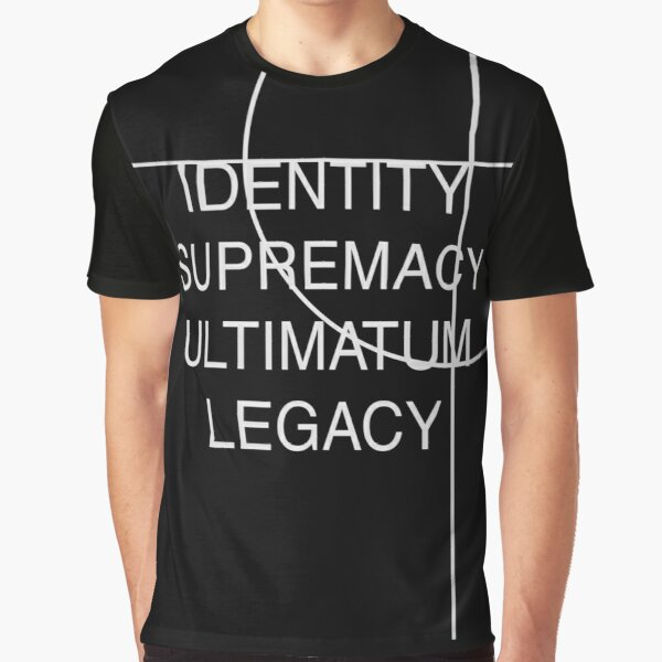 Identity, Supremacy, Ultimatum Graphic T-Shirt