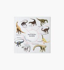 Sauropodomorpha: The Cladogram Art Board