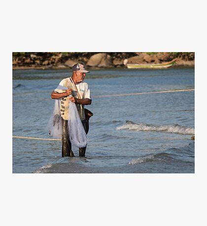 Kamala fisherman Photographic Print