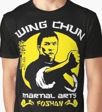 Wing Chun Martial Arts Graphic T-Shirt
