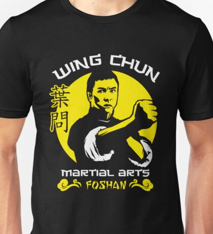 Wing Chun Martial Arts Unisex T-Shirt