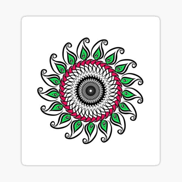 Floral Nish's Sticker