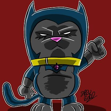Fat BatCat by DrewBird