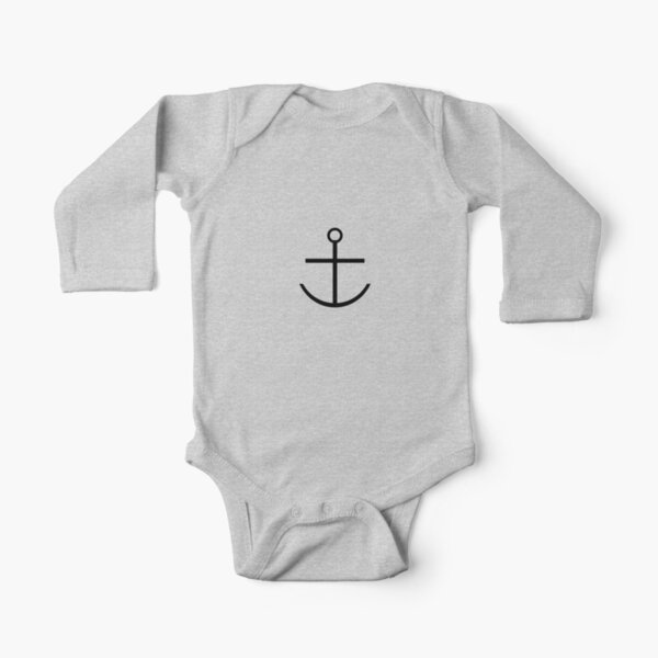 Capitaine Haddock Anchor Shirt Body manches longues