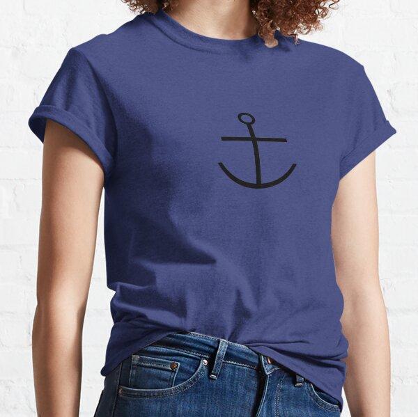 Capitaine Haddock Anchor Shirt T-shirt classique