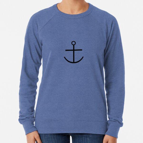 Captain Haddock Anchor Shirt Lightweight Sweatshirt