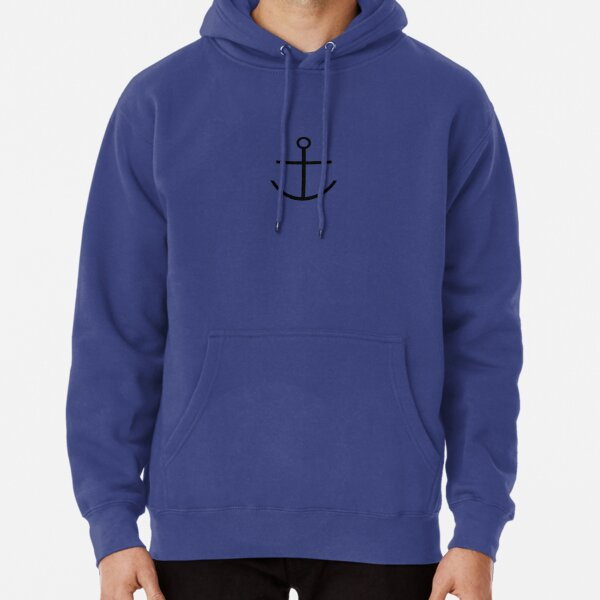Captain Haddock Anchor Shirt Pullover Hoodie