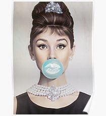 Audrey Hepburn II Poster