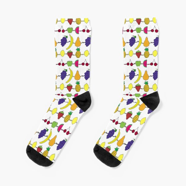 Fruit holding hands Socks