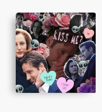 The X-Files Cuties Vol. 2 Canvas Print