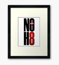 NOH8! Framed Print
