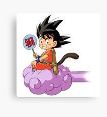 Kid Goku RC Canvas Print