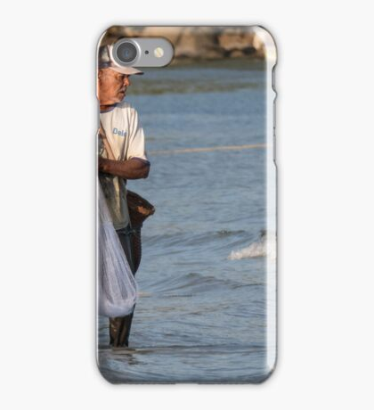 Kamala fisherman iPhone Case/Skin