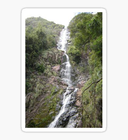 Wending Watery Way-down at Montezuma Falls Sticker