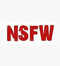NSFW Photographic Print
