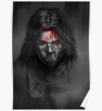 Winter Soldier,Bucky Poster