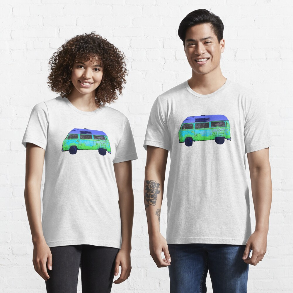 Colorful abstract Van art Graphics Vehicle design Vintage Car Van Essential T-Shirt