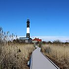Fire Island Lighthouse by Gilda Axelrod