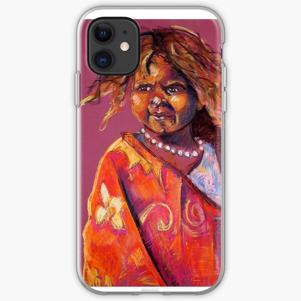 Young Girl iPhone Soft Case