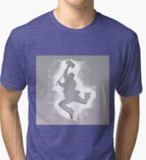 Bert Step In Time Tri-blend T-Shirt