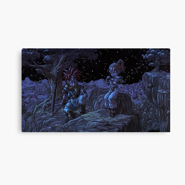 Chrono Trigger Crono /& Marle Canvas Print
