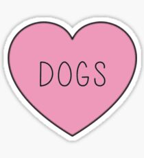 DOGS Sticker