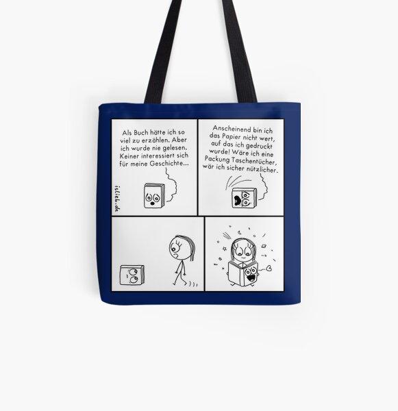 Buch islieb Allover-Print Tote Bag