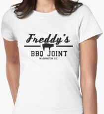 Freddy's BBQ Women's Fitted T-Shirt