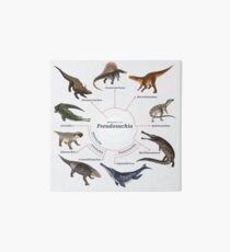 Pseudosuchia: The Cladogram Art Board