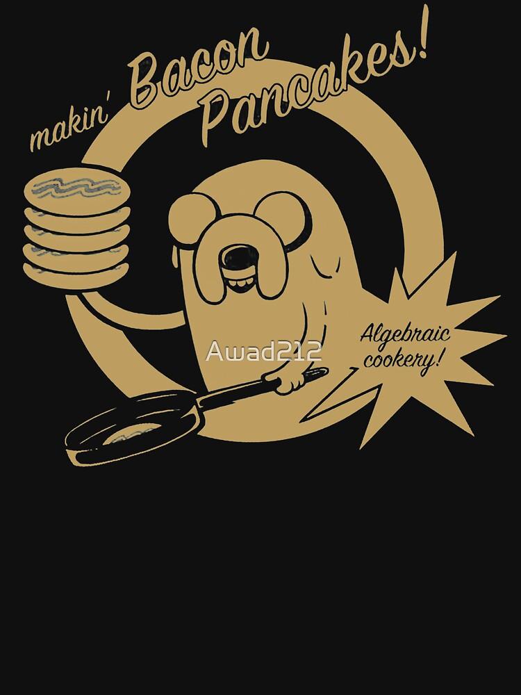 makin bacon pancakes by Awad212