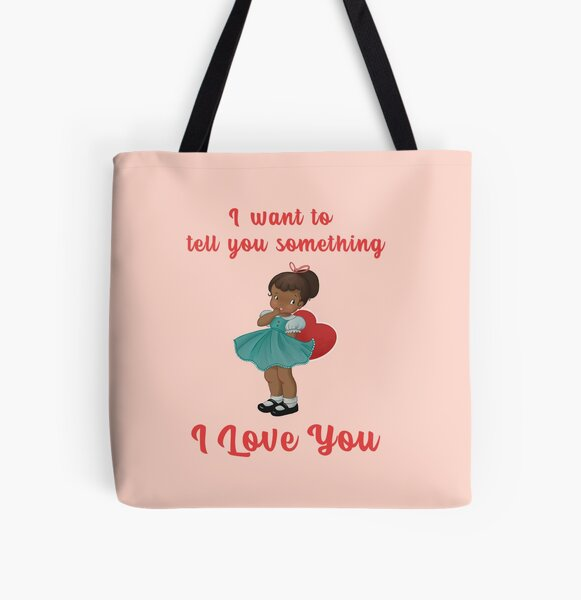 I love you All Over Print Tote Bag