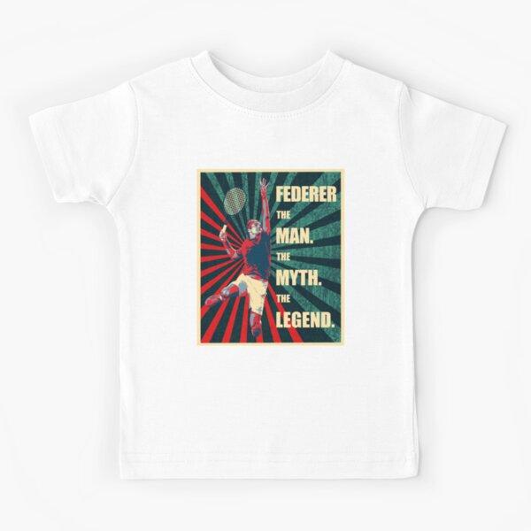 RF Roger Federer T-shirt enfant