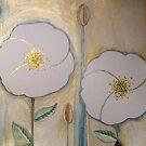 fleur de lys . 1a by Gea Austen