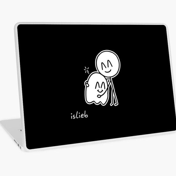 Geisterumarmung Laptop Folie