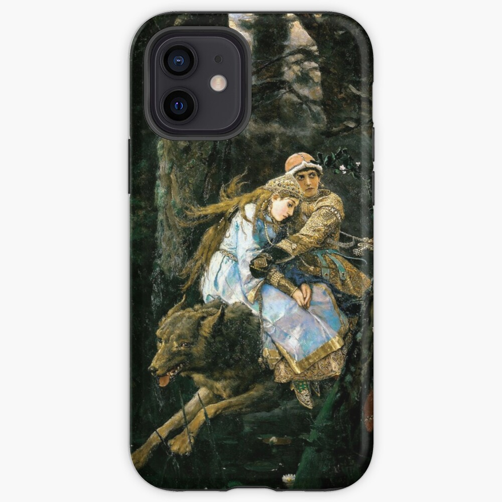 Ivan tsarevich riding the grey wolf iPhone Case & Cover