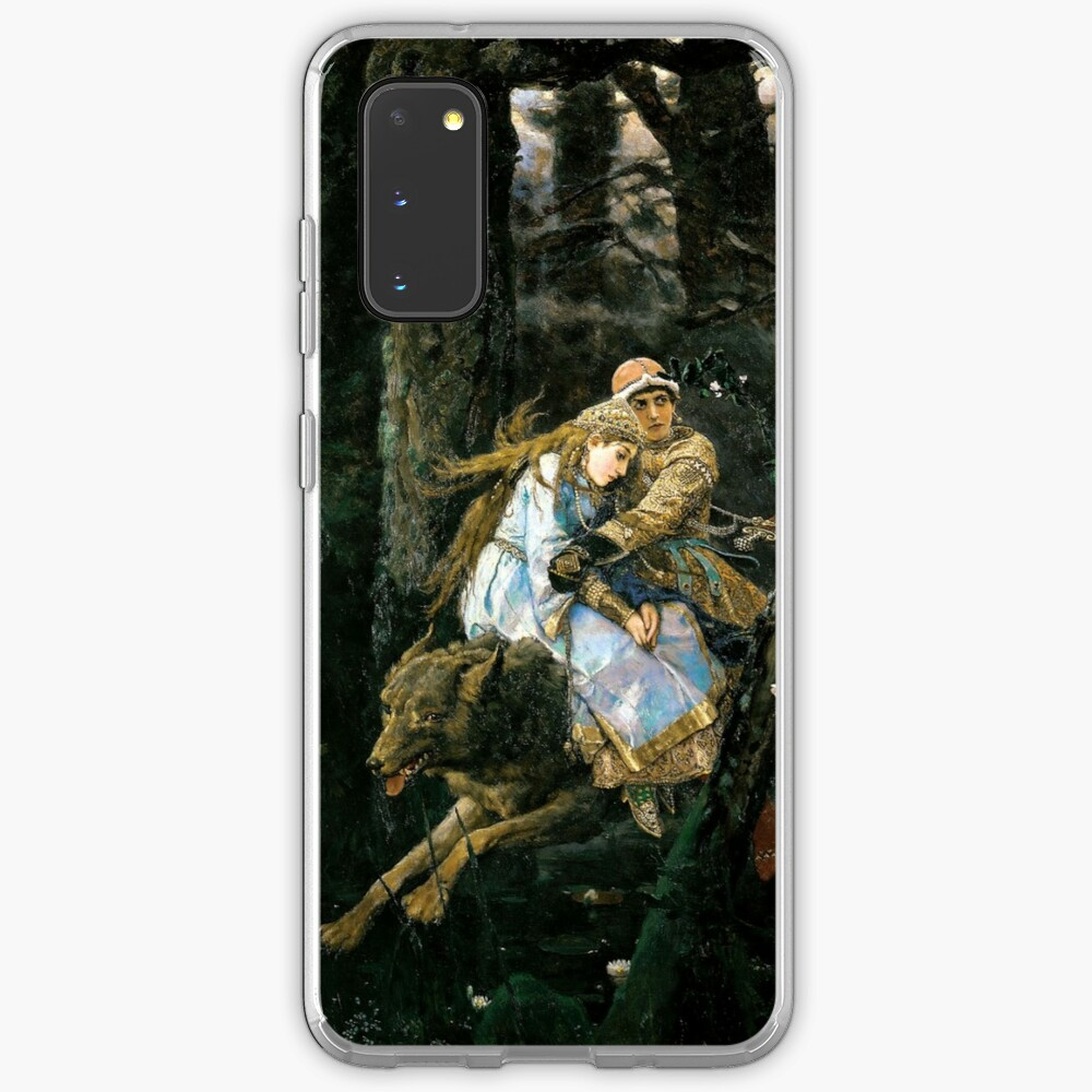 Ivan tsarevich riding the grey wolf Case & Skin for Samsung Galaxy