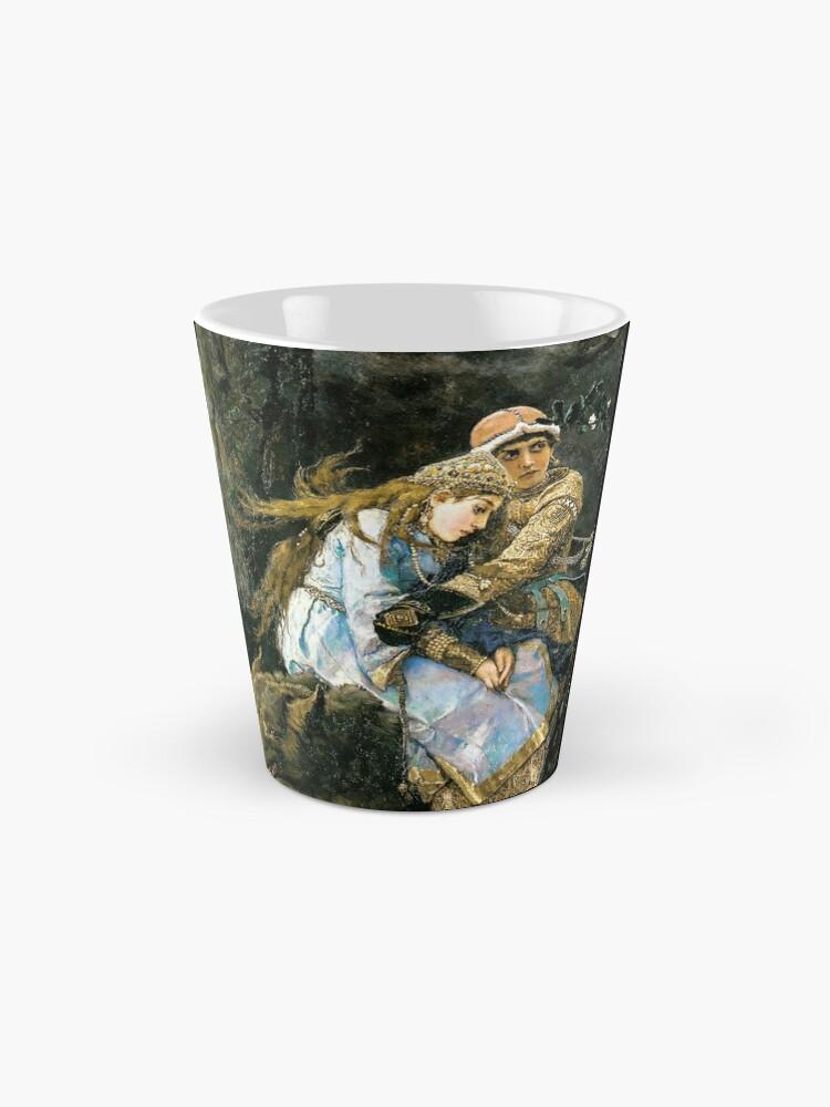 Alternate view of Ivan tsarevich riding the grey wolf Mug