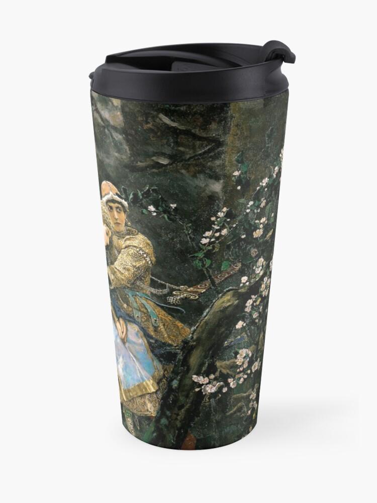 Alternate view of Ivan tsarevich riding the grey wolf Travel Mug