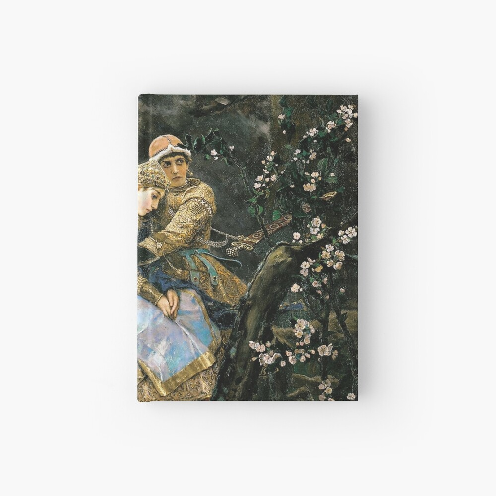 Ivan tsarevich riding the grey wolf Hardcover Journal