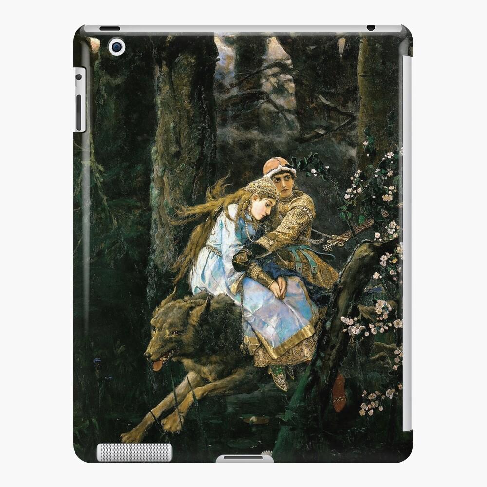 Ivan tsarevich riding the grey wolf iPad Case & Skin