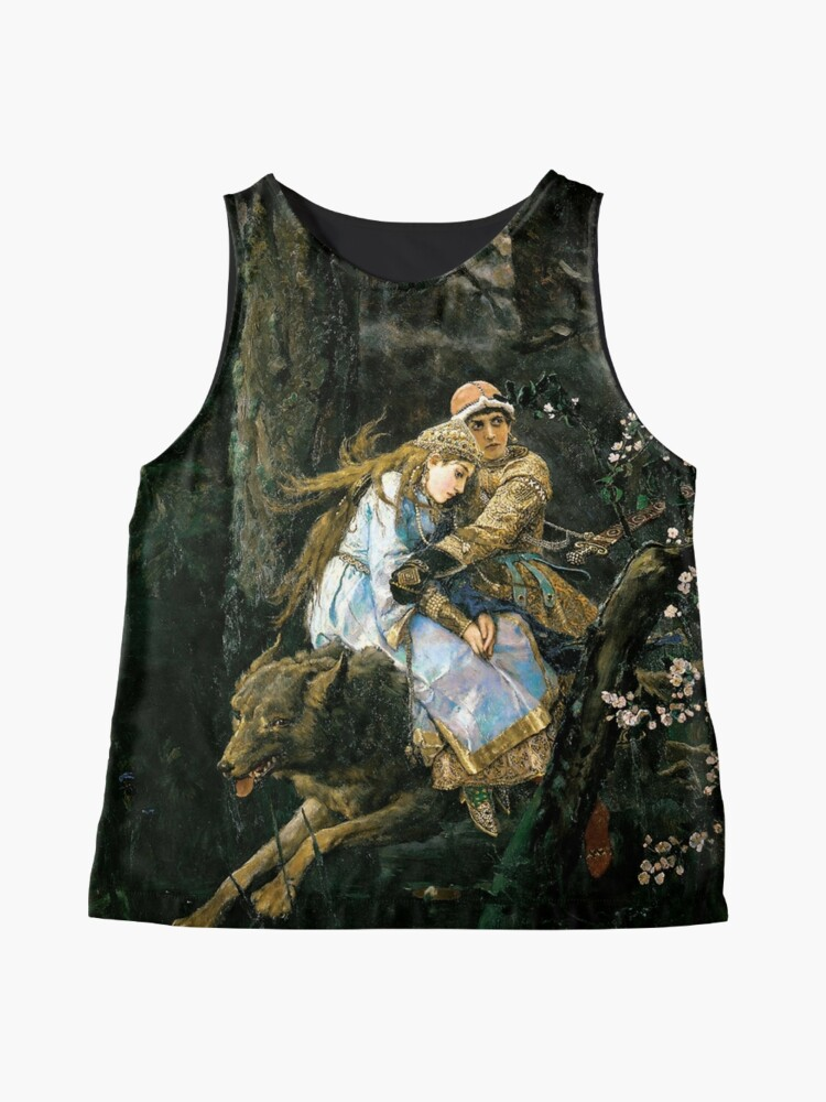 Alternate view of Ivan tsarevich riding the grey wolf Sleeveless Top