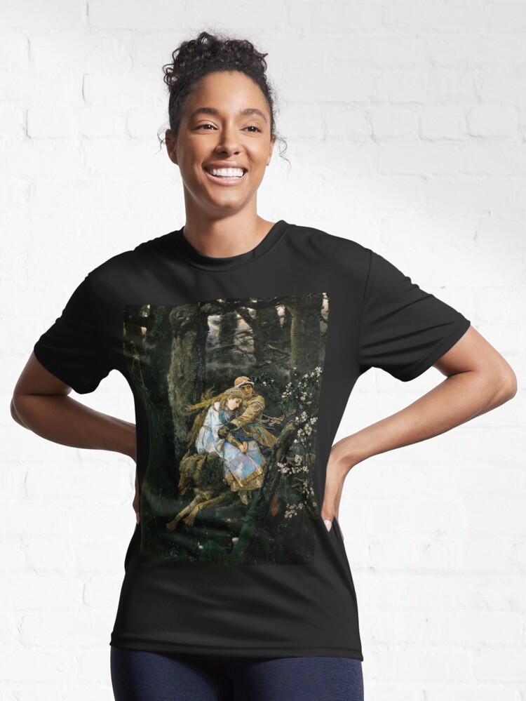 Alternate view of Ivan tsarevich riding the grey wolf Active T-Shirt