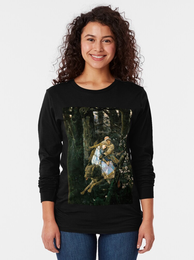 Alternate view of Ivan tsarevich riding the grey wolf Long Sleeve T-Shirt