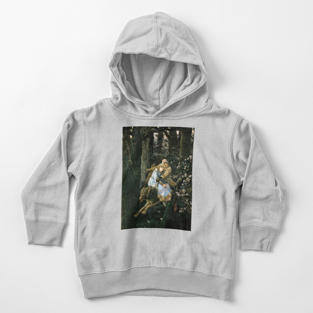 Ivan tsarevich riding the grey wolf Toddler Pullover Hoodie