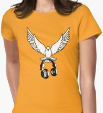 Peace song memories Womens Fitted T-Shirt