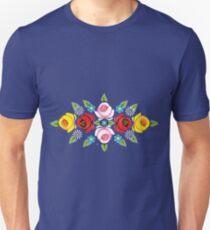 Canal Narrowboat Roses Unisex T-Shirt