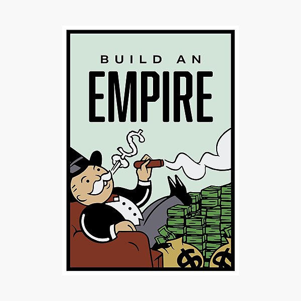Monopoly Build An Empire Photographic Print