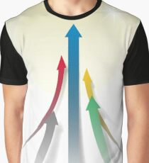 Abstract Olympic Competition Background Graphic T-Shirt