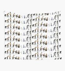 Evolution Wall Tapestry